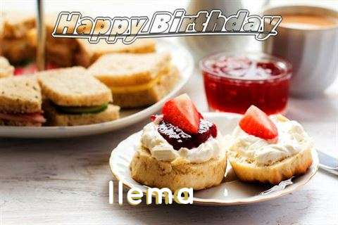 Happy Birthday Cake for Ilema