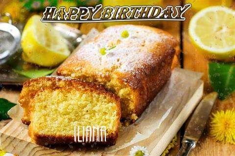 Happy Birthday Cake for Iliana