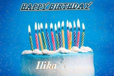 Happy Birthday Cake for Ilika