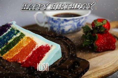 Happy Birthday Wishes for Ilisa