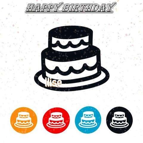 Happy Birthday Ilise Cake Image