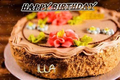 Birthday Images for Illa