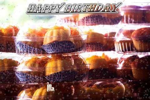 Happy Birthday Wishes for Illa