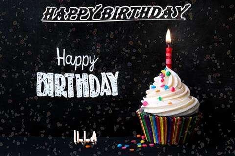Happy Birthday to You Illa