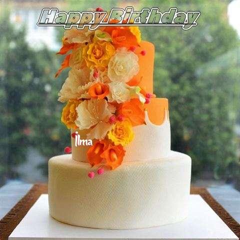 Happy Birthday Cake for Ilma