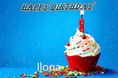 Happy Birthday Wishes for Ilona