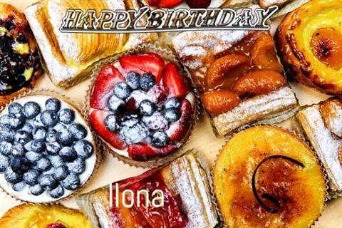 Happy Birthday to You Ilona
