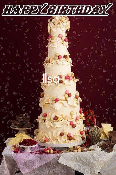 Happy Birthday Ilsa