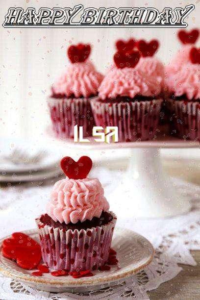Happy Birthday Wishes for Ilsa