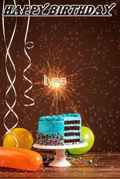 Happy Birthday Cake for Ilyse