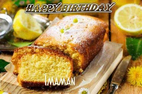 Happy Birthday Cake for Imaman
