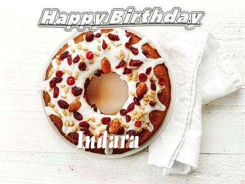 Happy Birthday Cake for Indara