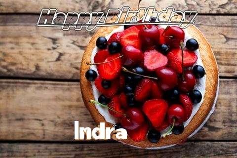 Happy Birthday Cake for Indra