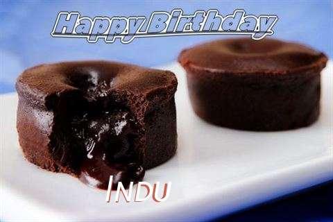 Happy Birthday Wishes for Indu