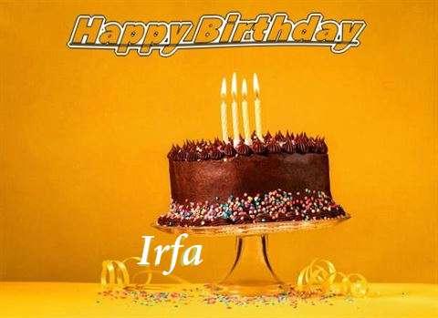 Happy Birthday Irfa