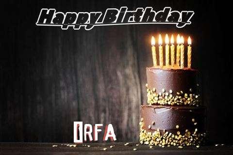 Happy Birthday Cake for Irfa
