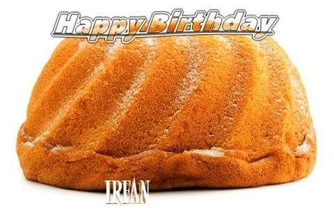 Happy Birthday Irfan Cake Image