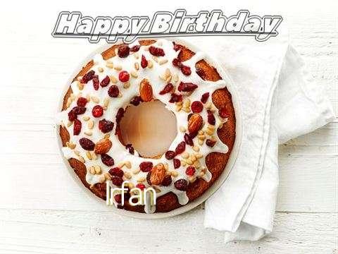 Happy Birthday Cake for Irfan