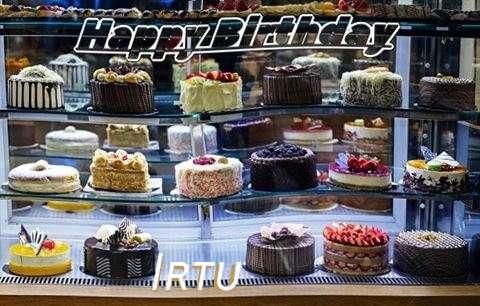 Happy Birthday Irtu Cake Image