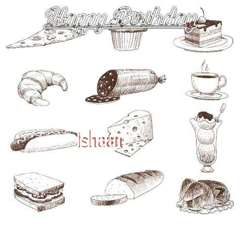 Happy Birthday Cake for Ishaan
