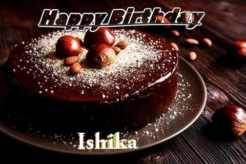 Birthday Wishes with Images of Ishika