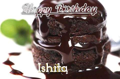 Birthday Wishes with Images of Ishita