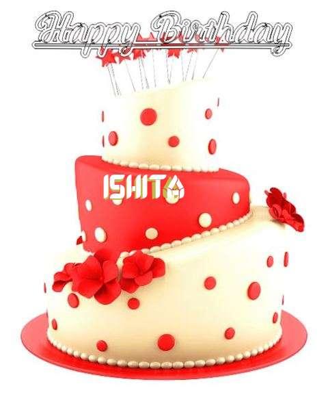Happy Birthday Wishes for Ishita
