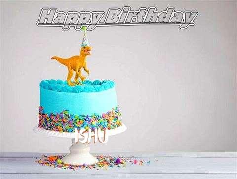 Happy Birthday Cake for Ishu