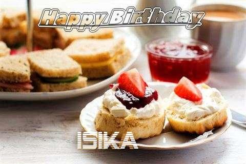 Happy Birthday Cake for Isika