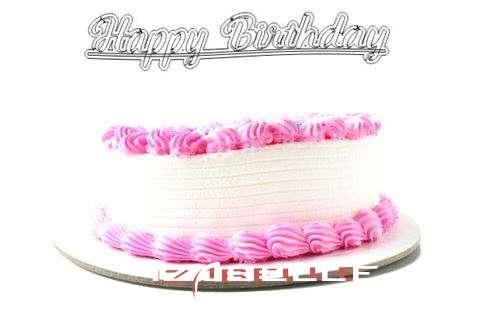 Happy Birthday Wishes for Izabelle