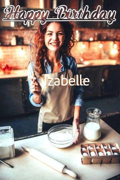 Happy Birthday Cake for Izabelle
