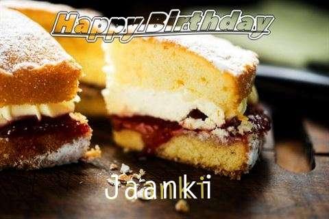 Happy Birthday Cake for Jaanki