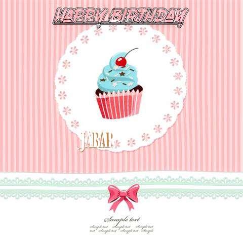 Happy Birthday to You Jabar