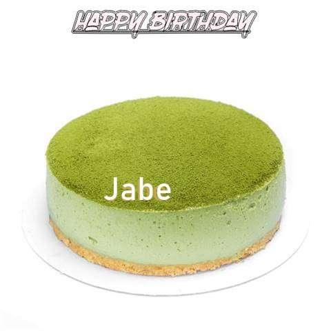 Happy Birthday Cake for Jabe