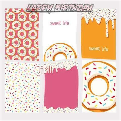 Happy Birthday Cake for Jabin