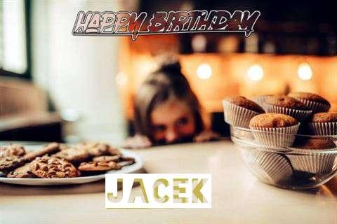 Happy Birthday Jacek Cake Image