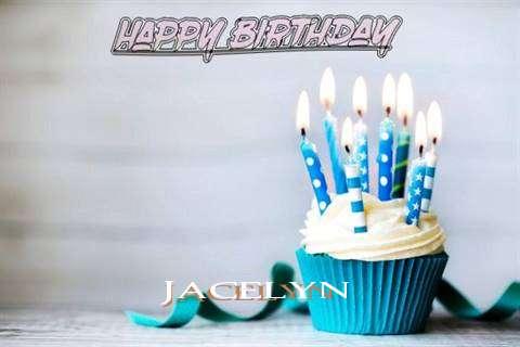 Happy Birthday Jacelyn Cake Image