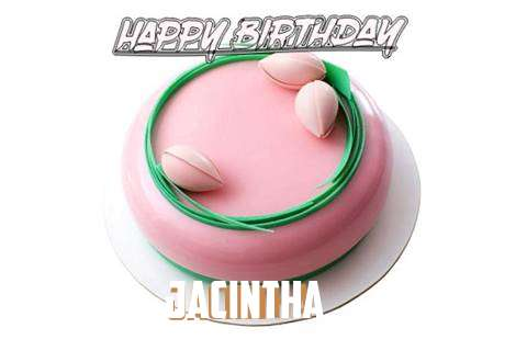 Happy Birthday Cake for Jacintha
