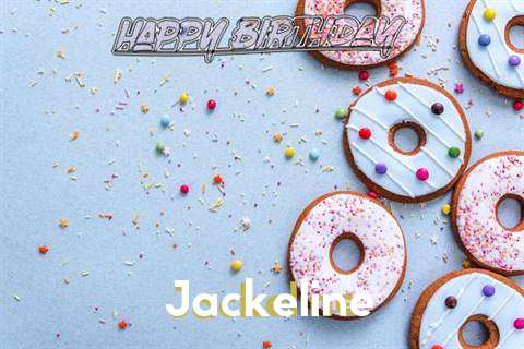 Happy Birthday Jackeline Cake Image