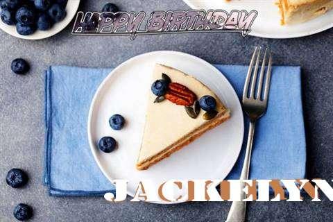 Happy Birthday Jackelyn Cake Image