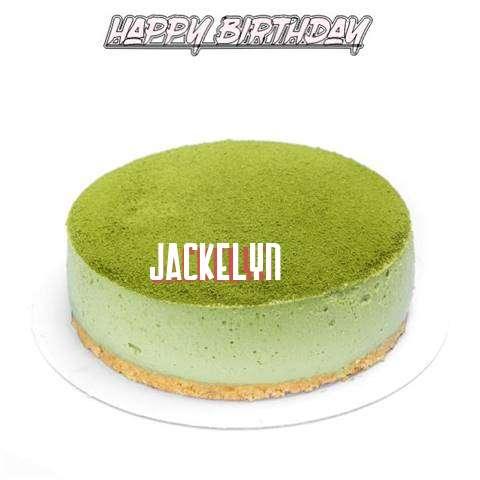 Happy Birthday Cake for Jackelyn
