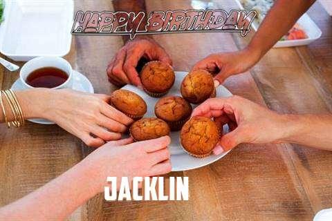 Happy Birthday Wishes for Jacklin