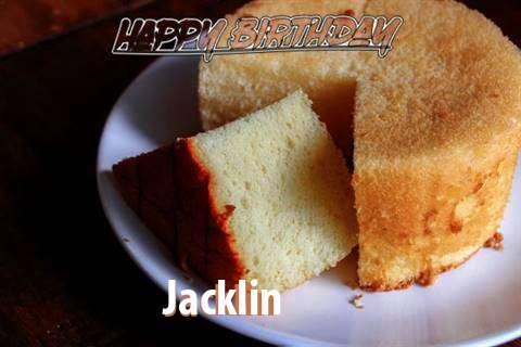 Happy Birthday to You Jacklin