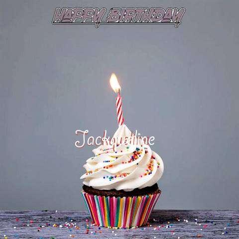 Happy Birthday to You Jackqueline