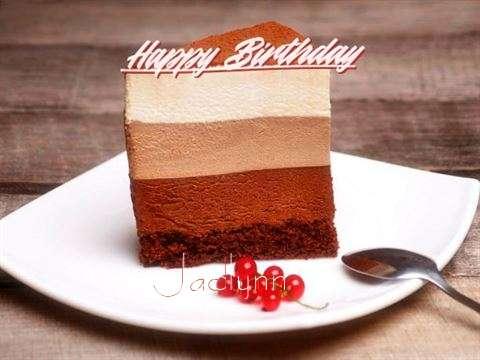 Happy Birthday Jaclynn Cake Image