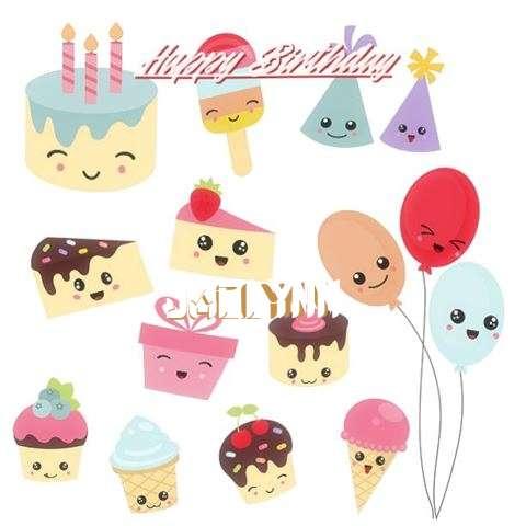 Happy Birthday Cake for Jaclynn