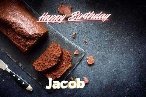 Happy Birthday Jacob Cake Image