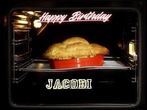 Happy Birthday Cake for Jacobi