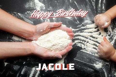 Happy Birthday Jacole Cake Image