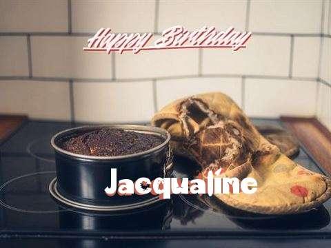 Happy Birthday Jacqualine Cake Image